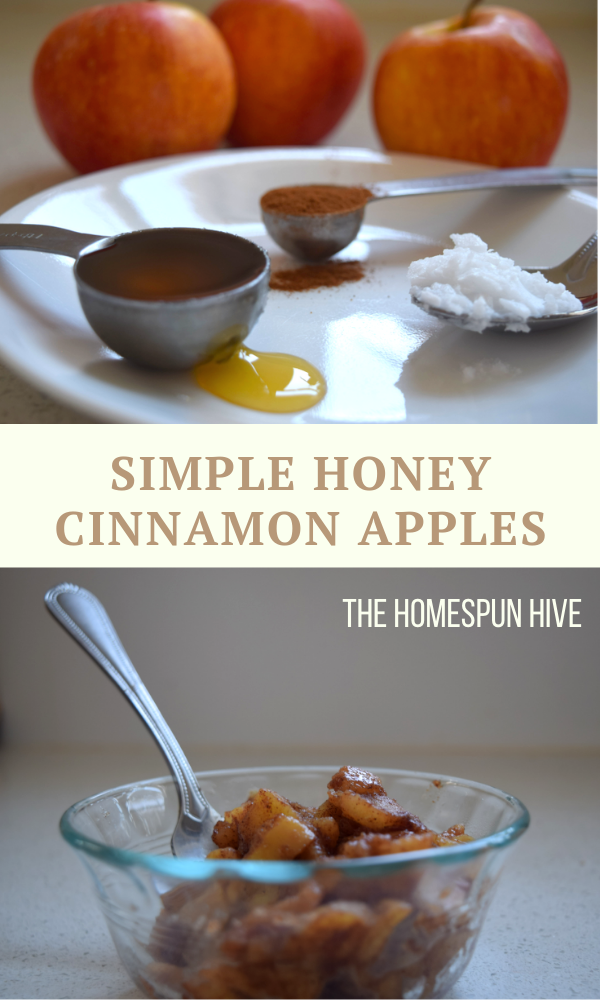 Cinnamon Honey Apples