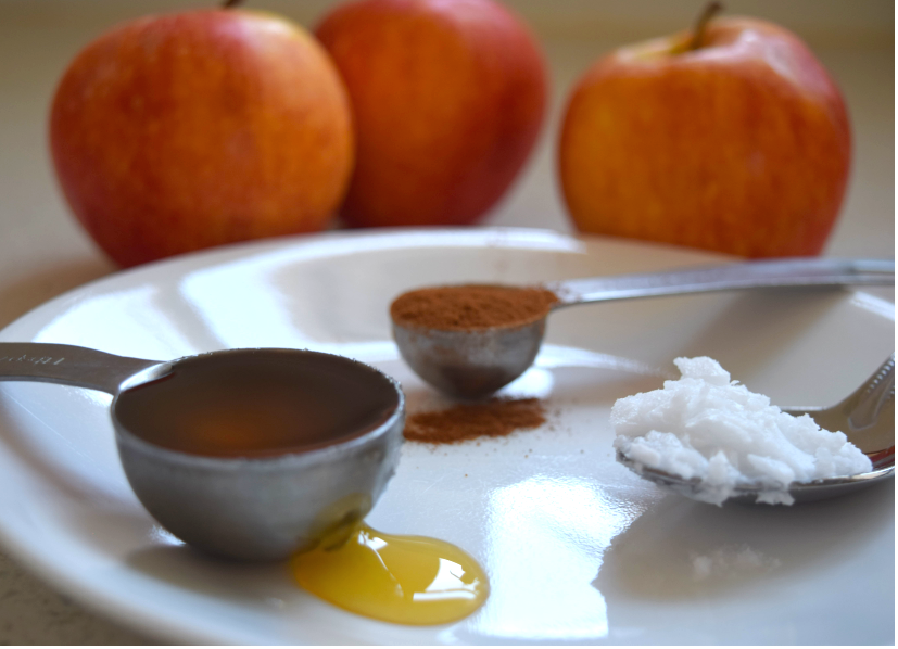 honey cinnamon and coconut oil