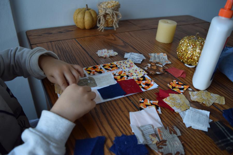Ellie ding card craft