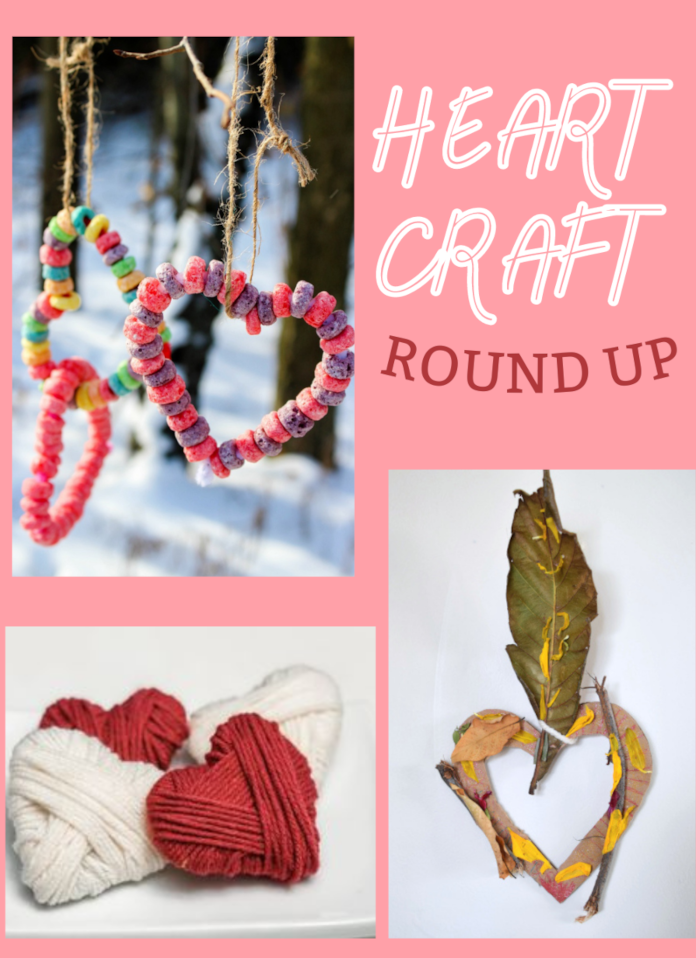 heart craft round up