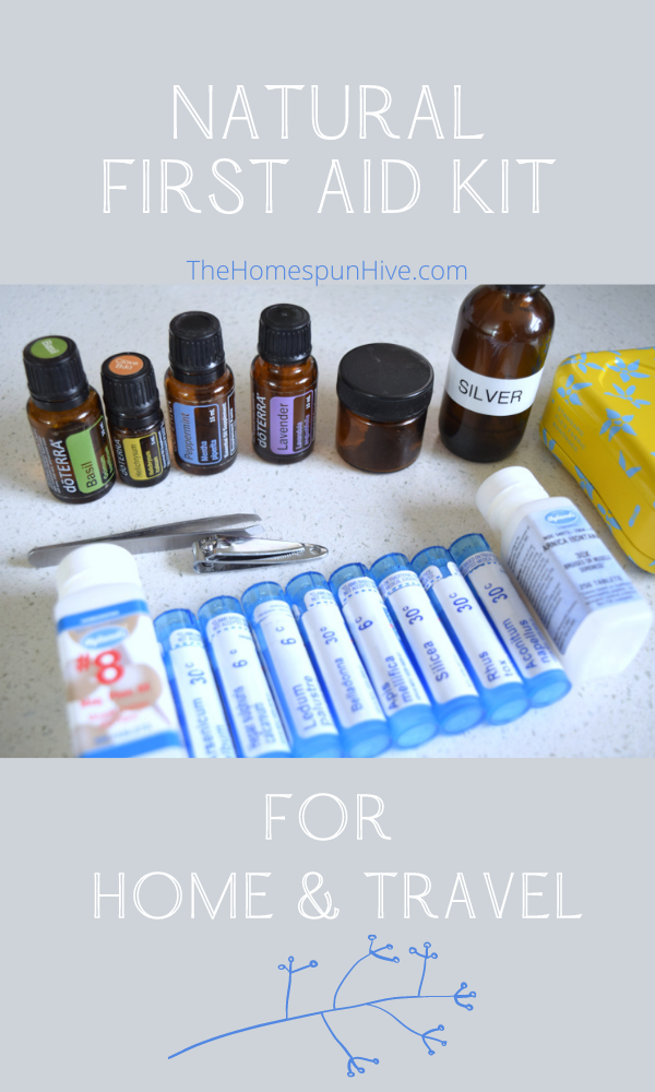 natural first aid kit for home and travel