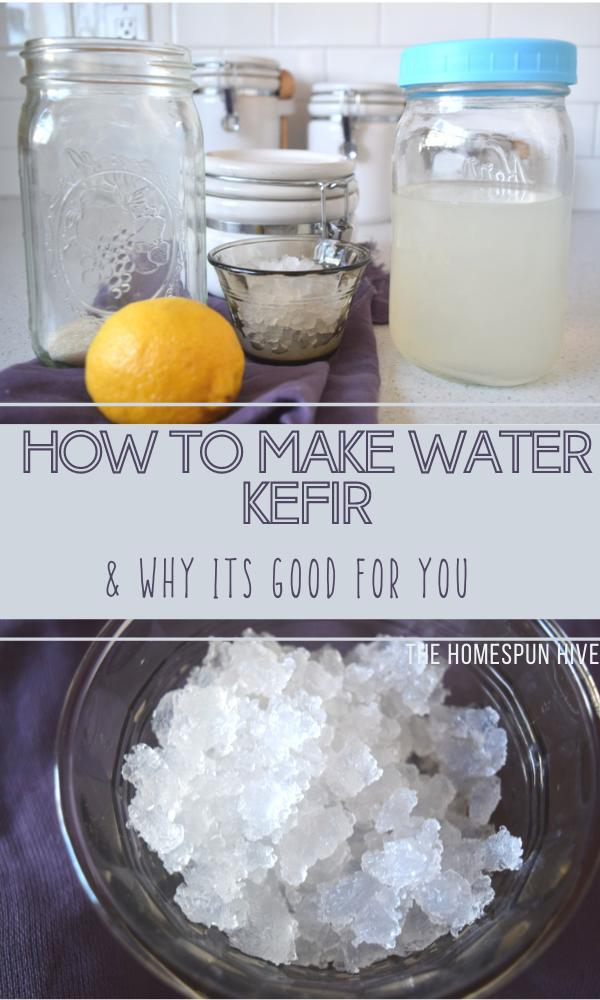 water kefir pin image