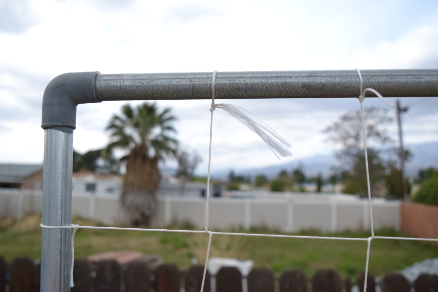 fittings for galvanized pipe trellis