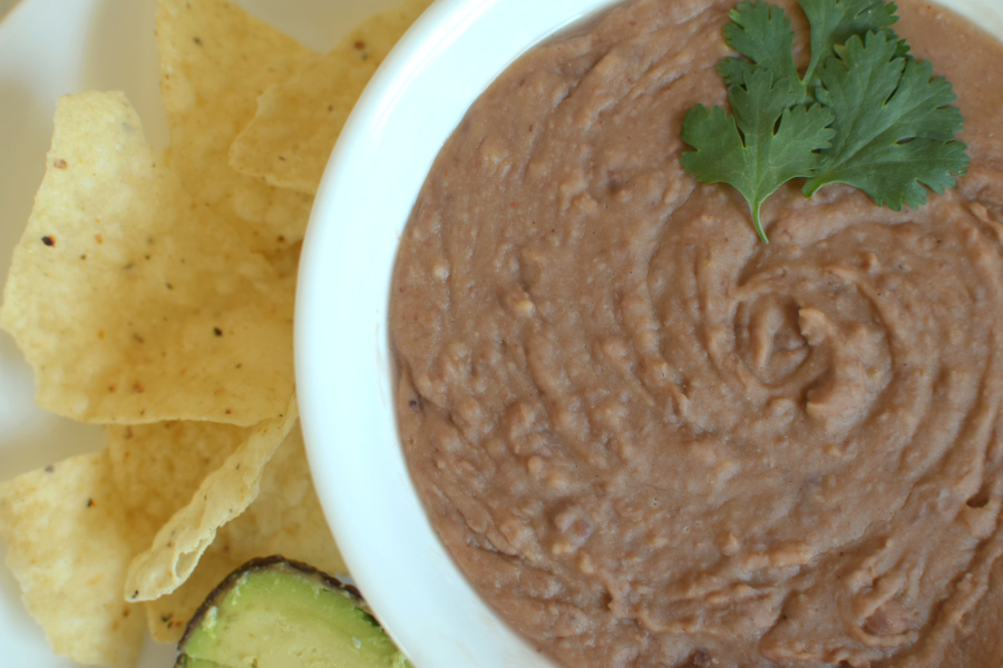 Quick Stovetop Refried Beans